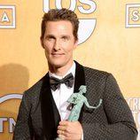Matthew McConaughey, Mejor Actor en los SAG 2014