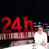 Sergio Martín, presentador de 'La noche en 24h'