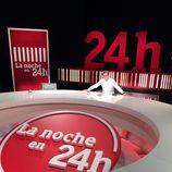 Plató nuevo de 'La noche en 24h' de Barcelona