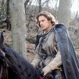 Romeo montando a caballo