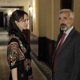 Paz (Ariadna Gil) y Antonio (Imanol Arias) en 'Cuéntame cómo pasó'