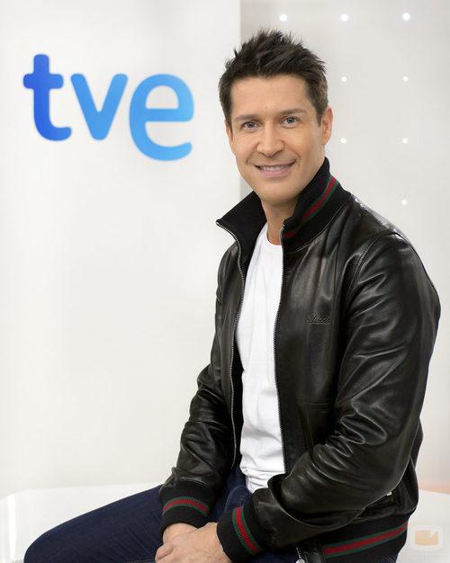 Jaime Cantizano, presentador de TVE