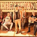 Christian Sánchez lidera la banda Dreamland surgida de la serie de Cuatro
