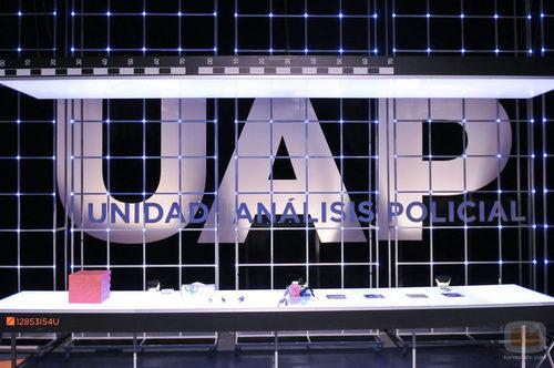Plató de 'UAP: Unidad de Análisis Policial'