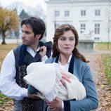 Anna Karenina y el conde Aleksei Vronsky en la TV movie de Telecinco