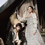 Ingrid Rubio y Hugo Silva en la serie 'El corazón del océano'