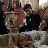 Anna Karenina, el conde Aleksei Vronsky y Aleksei Karenin en 'Anna Karenina'