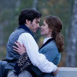 Santiago Cabrera y Vittoria Puccini en la TV movie 'Anna Karenina'