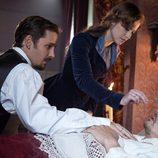 Kitty Shcherbatskaya y Konstantin Levin en 'Anna Karenina'