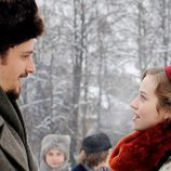 Konstantin Levin y Kitty Shcherbatskaya, personajes de 'Anna Karenina'