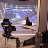 Nuevo plató de los informativos de Canal Extremadura TV