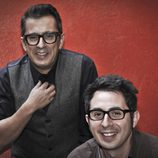 Andreu Buenafuente y Berto Romero, presentadores de 'En el aire'