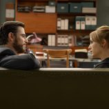 Diego y Valeria se miran en 'Amar es para siempre'