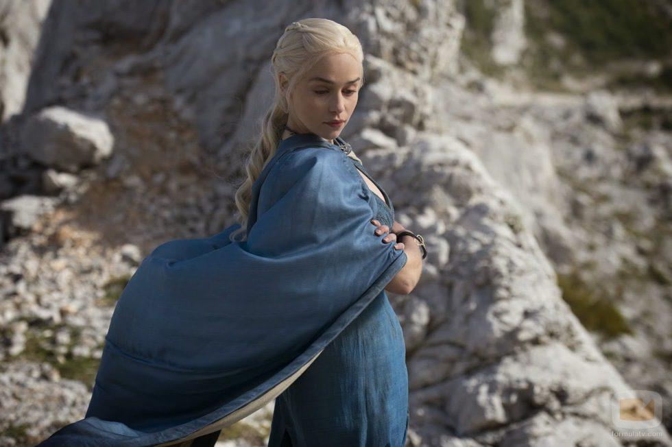 Emilia Clarke en la cuarta temporada de 'Juego de tronos'