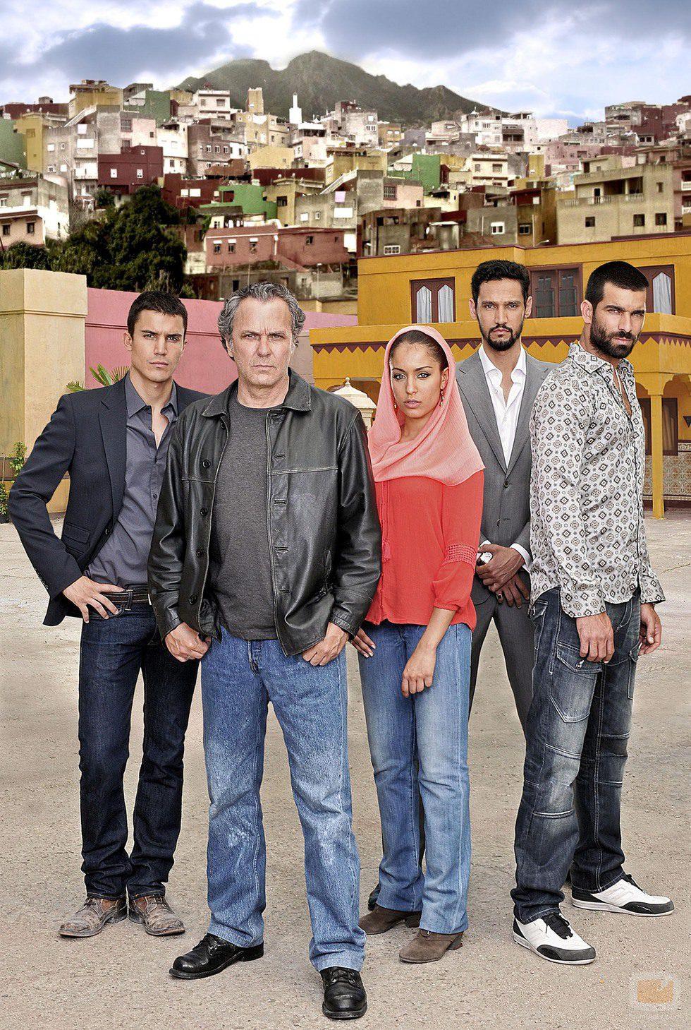 Los protagonistas de la serie 'El Príncipe'