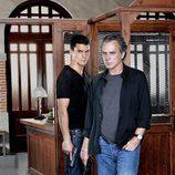 José Coronado y Álex González en 'El Príncipe'