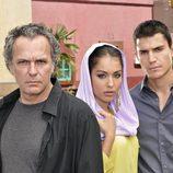Coronado, Abouk y González en 'El Príncipe'