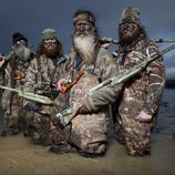 Los miembros de la familia Robertson de 'Duck Dynasty'