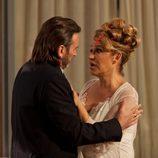 Fermín Trujillo y Estela Reynolds, a punto de casarse en 'La que se avecina'