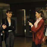 Jacobo, Lydia, Laura y Martín en 'Los misterios de Laura'