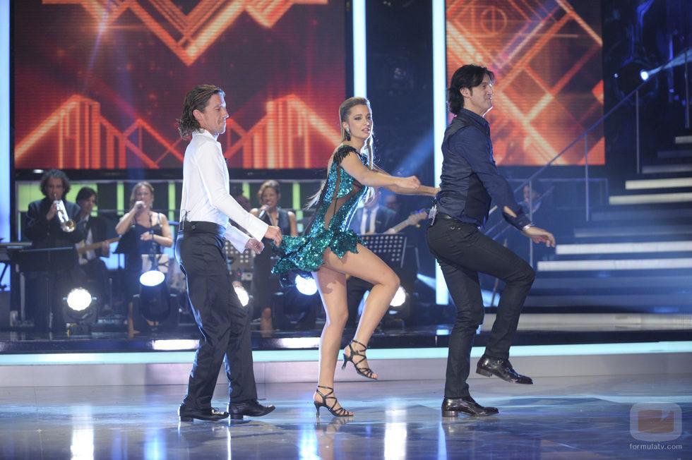 Colate, Corina y Poty en la tercera gala de '¡Mira quién baila!'
