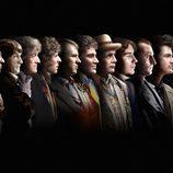 Los once doctores de 'Doctor Who'