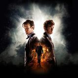 Matt Smith y David Tennant en el episodio especial de 'Doctor Who'