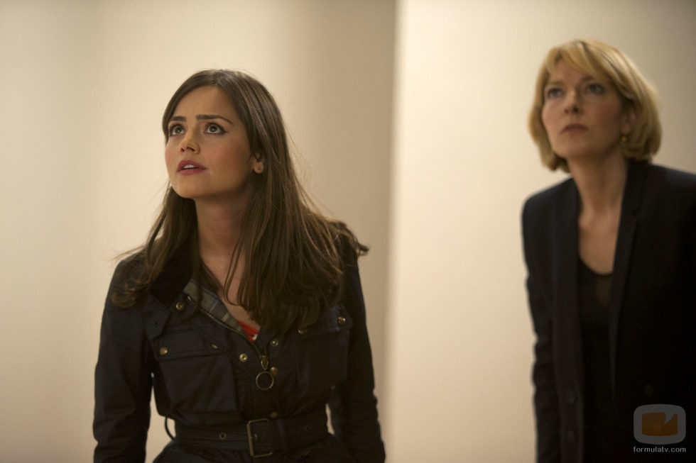 Jenna Coleman en el episodio especial de 'Doctor Who'