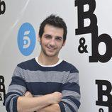 Fran Perea en la rueda de prensa de 'B&b, de boca en boca'