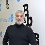 Adolfo Fernández en la rueda de prensa  'B&b, de boca en boca'