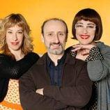 Nathalie Seseña, José Luis Gil e Isabel Ordaz