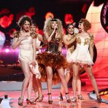 Gisela en el Festival de Eurovisión 2008