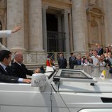 Jordi Évole en El Vaticano