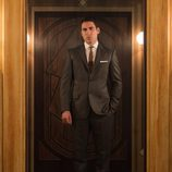 Alberto Márquez en el ascensor de 'Velvet'