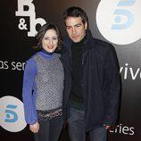 Ruth Nuñez y Alejandro Tous en la presentación de 'B&b, de boca en boca'
