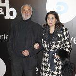 Adolfo Fernández y Luisa Martín en el estreno de 'B&b, de boca en boca'
