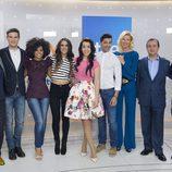 La familia al completo de la gala 'Mira quién va a Eurovisión'