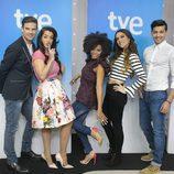 Raúl, Ruth Lorenzo, Brequette, La Dama y Jorge son los candidatos a Eurovisión