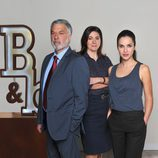 Adolfo Fernández, Luisa Martín y Paula Prendes en 'B&b, de boca en boca'
