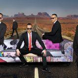 Imagen promocional de 'Viajando con Chester', presentado por Risto Mejide