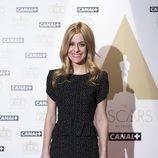 "Alexandra Jiménez, presentadora de ""La noche de los Oscar"" en Canal+"
