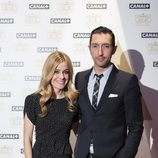 """Toni Garrido y Alexandra Jiménez en """"La noche de los Oscar"""" de Canal+"""