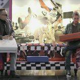 Risto Mejide con Jorge Lorenzo en 'Viajando con Chester'