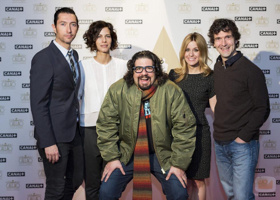 Los familia de los Oscar 2014 de Canal+
