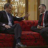 José Luis Rodríguez Zapatero conversa con Risto Mejide en 'Viajando con Chester'