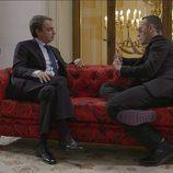 José Luis Rodríguez Zapatero y Risto Mejide en 'Viajando con Chester'
