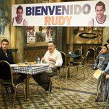 Bienvenida a Rudy Fernández en 'Aída'