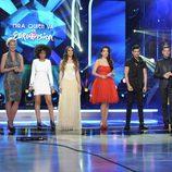 Brequette, La Dama, Ruth Lorenzo, Jorge González y Raúl en '¡Mira quién va a Eurovisión!'