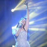 Ruth Lorenzo durante su actuación musical en '¡Mira quién va a Eurovisión!'