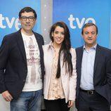 Ruth Lorenzo junto con Alejandro Flórez y Federico Llano